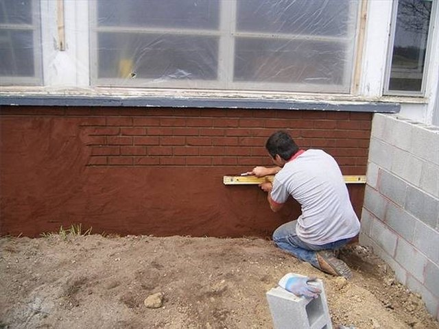 How To Make Stucco Look Like Brick Hunker