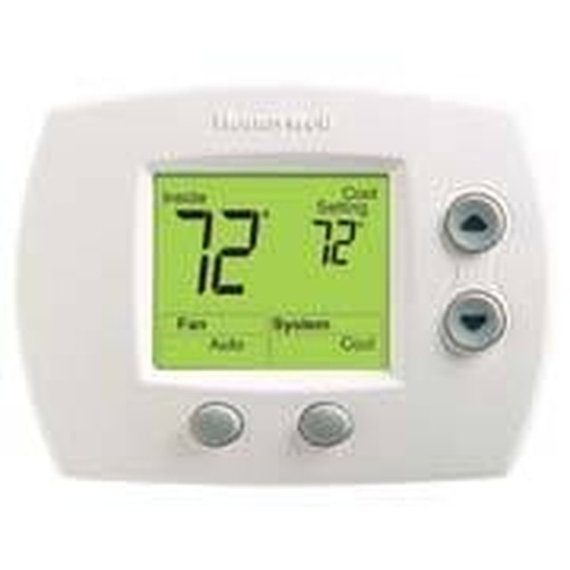 how to program honeywell 5000 pro thermostat hunker rh hunker com  honeywell rth230b thermostat instructions