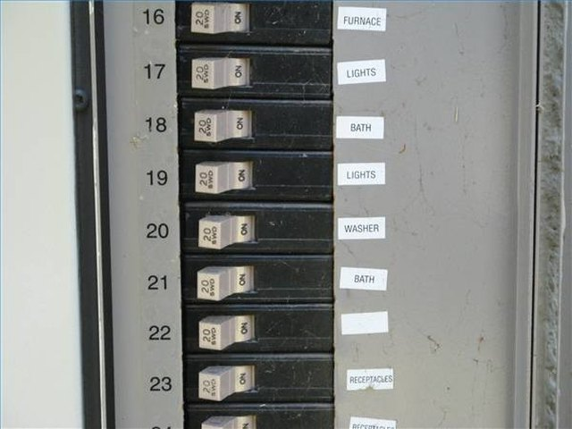 how to change a fuse box to a circuit breaker hunker fuse box breaker switch inside cover of breaker box