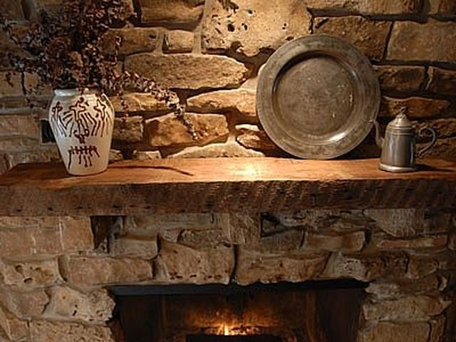 How to Make Your Own Fireplace Mantel | Hunker