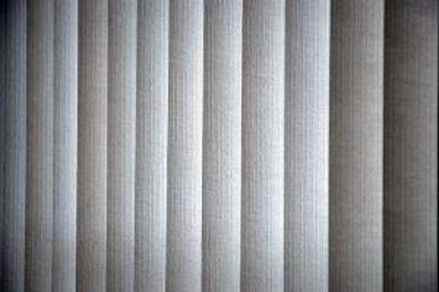 How To Cover Vertical Blinds Hunker