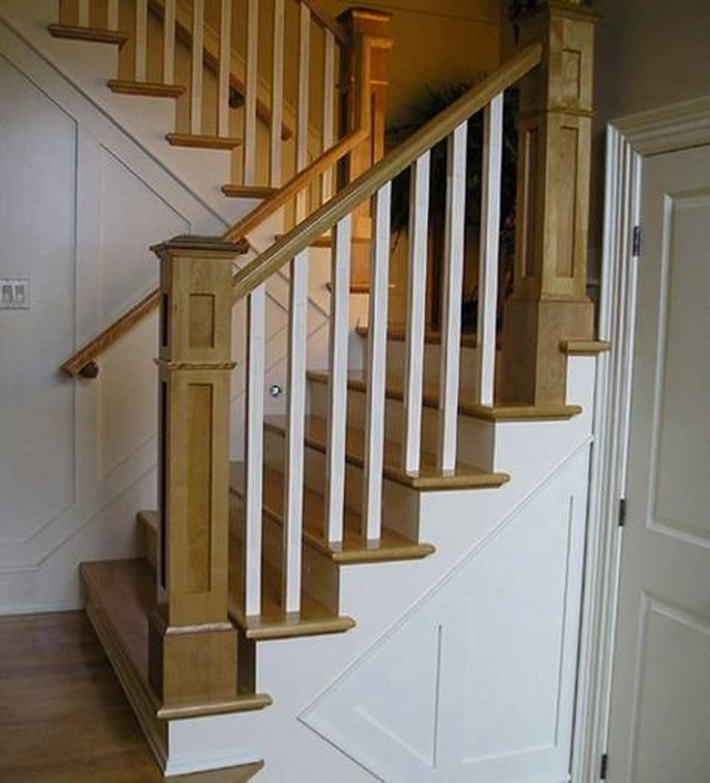 How To Restain Stair Treads Hunker