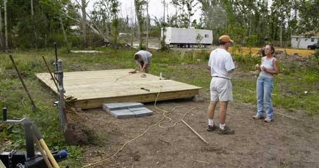 How to Build a 6' x 6' Deck | Hunker
