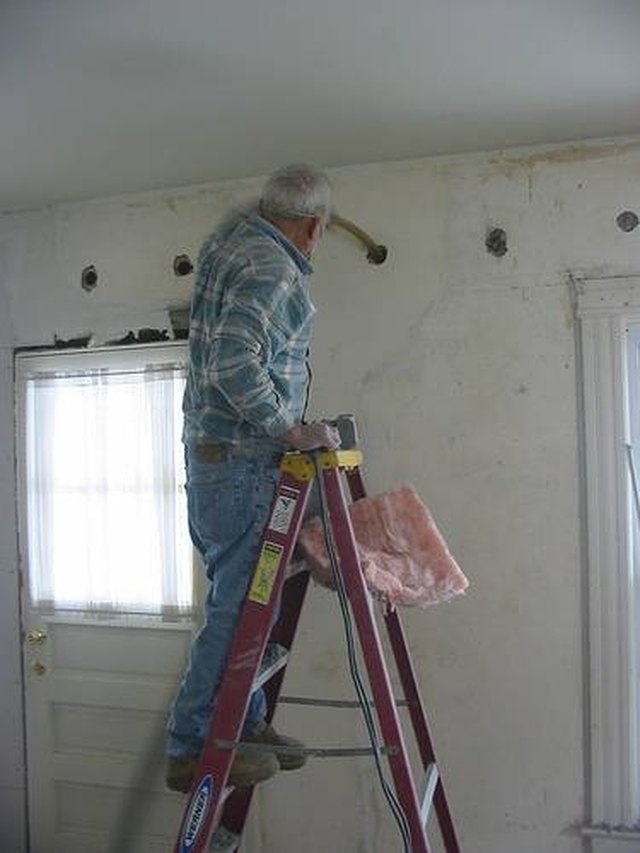 Genial How To Insulate Interior Walls That Are Already Drywalled | Hunker