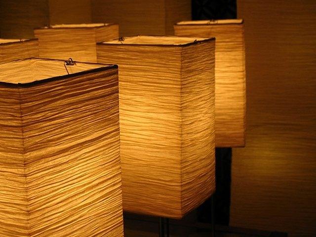 Diy lampshades hunker fabric lampshades aloadofball Gallery