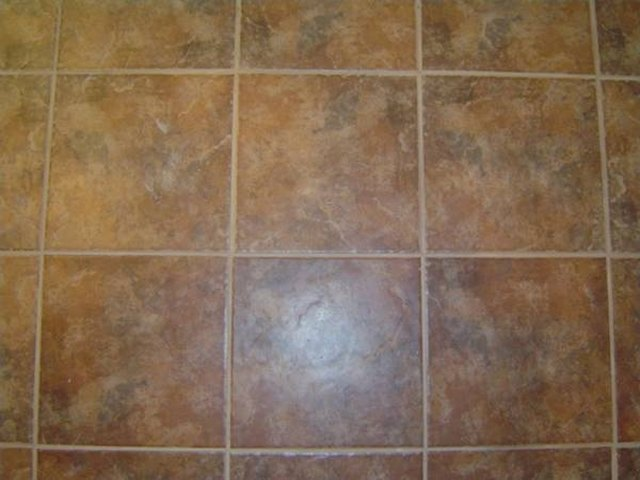 How To Stain Tile Floors Hunker