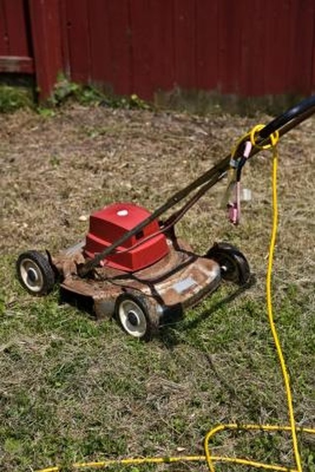 How to Mow with a Corded Mower | Hunker
