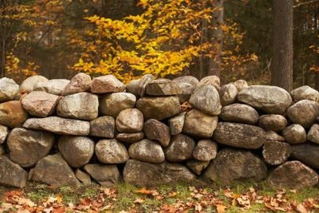 How To Install Retaining Walls With Natural Stone Hunker