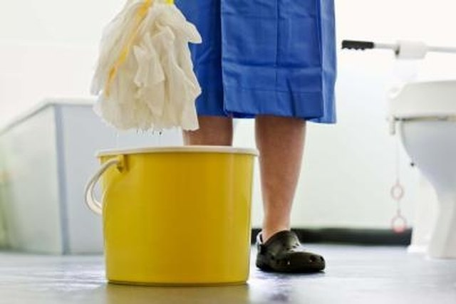 How to Disinfect a Mop | Hunker