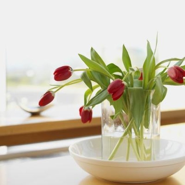 How To Make Tulips Stand Up In The Vase Hunker