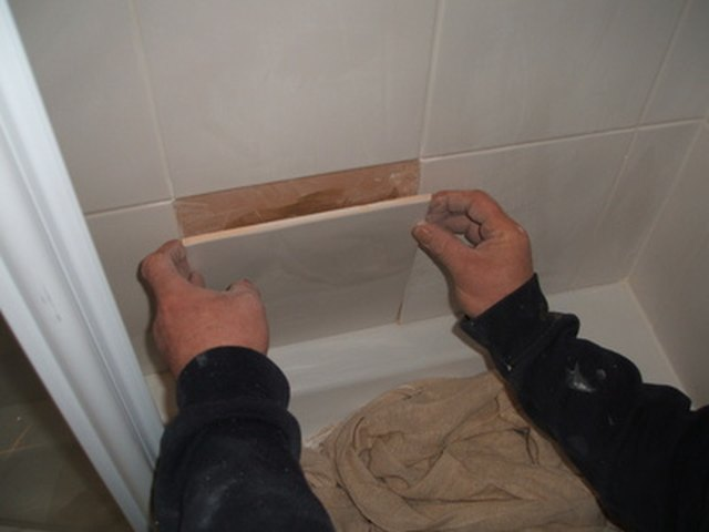 Removing Ceramic Tile >> Showers & Bath Tubs That Fit Over the Old Ones | Hunker