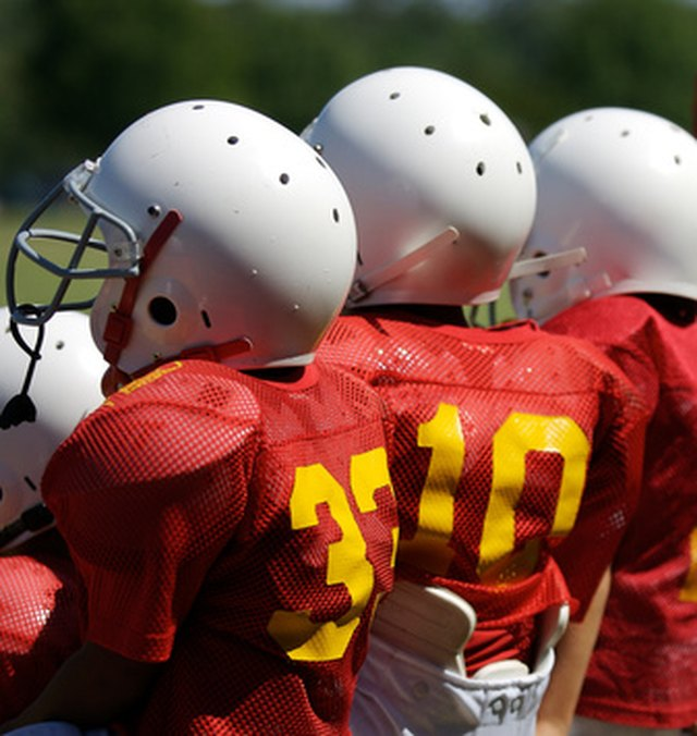 How to Remove Stickers From Football Helmets | Hunker