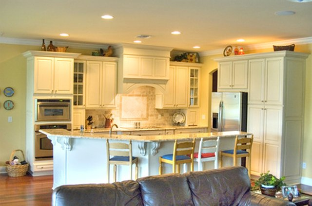 Painting Kitchen Cabinets Over Polyurethane | Hunker