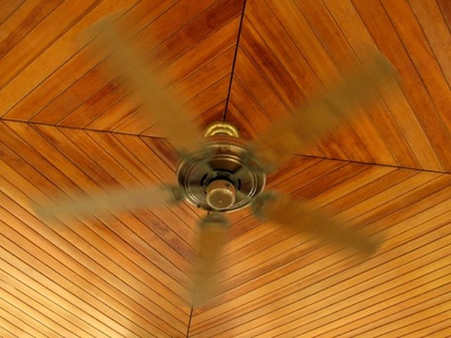 Hunter fan directions for summer vs winter hunker your ceiling fan can spin opposite directions depending on the season mozeypictures Images