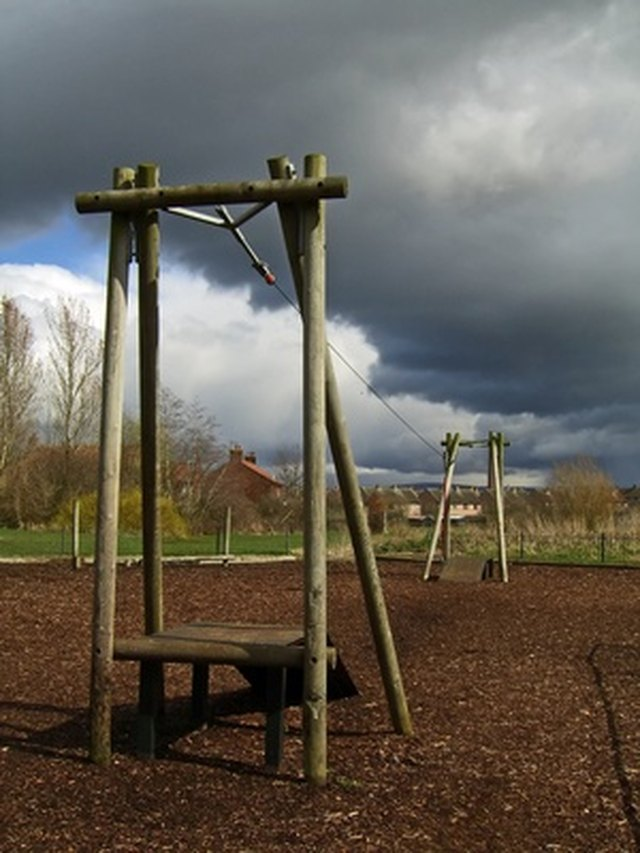How Do I Build A Playground Area With Landscape Timbers