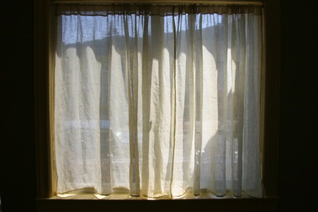 How Many Curtains Should Be Hung On A Double Window Hunker