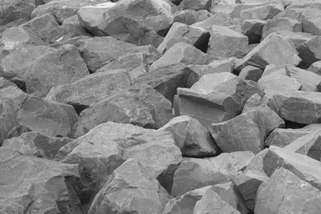 Standard Weights for Crushed Rock Per Meter | Hunker