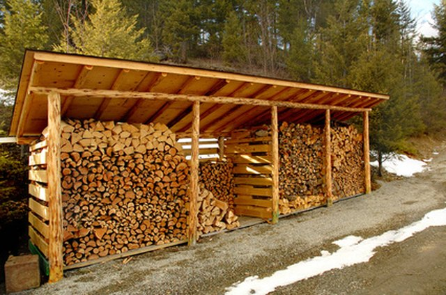 Designs To Build A Wood Shed To Store Firewood Hunker