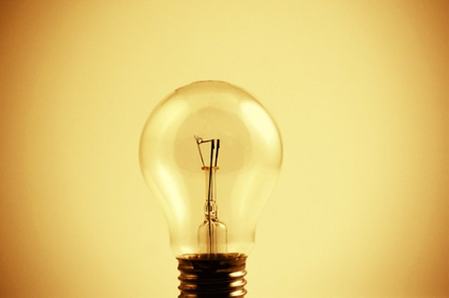 What Minerals Are in a Light Bulb? | Hunker