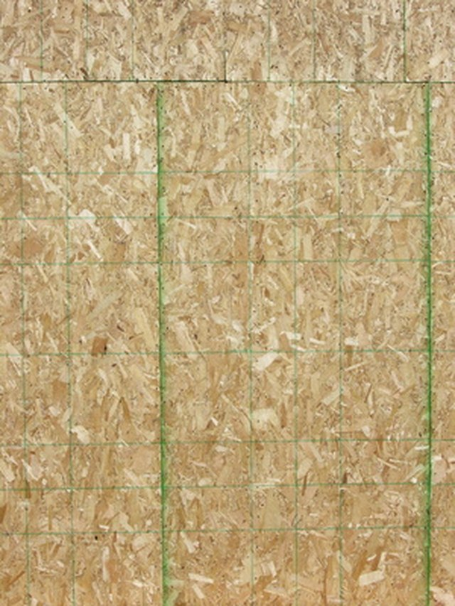 How to Stain OSB Panels | Hunker