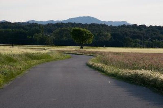 Asphalt And Paver Driveway