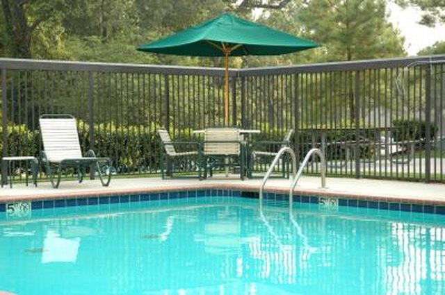 What Is The Fence Height Requirement Around A Pool Hunker