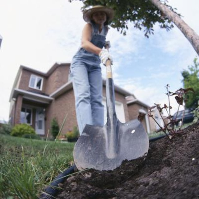 How To Bury A Sump Pump Line