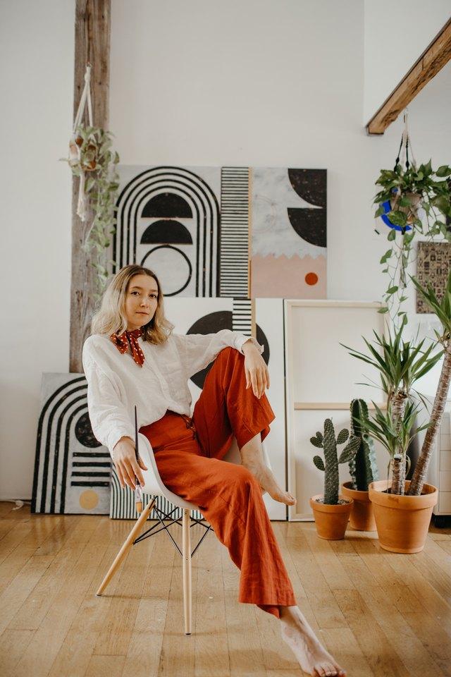 Hunker Down With San Francisco-Based Artist and Small Biz Owner Sofia Shu   Hunker