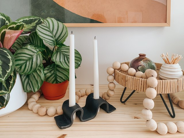 Truly, This Wavy Candleholder Is Very Easy to Make   Hunker