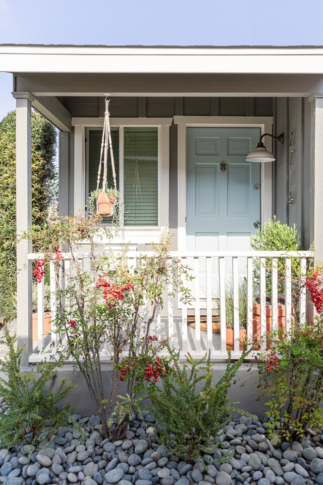 We Turned this Dated Front Porch into a Welcoming Entryway | Hunker