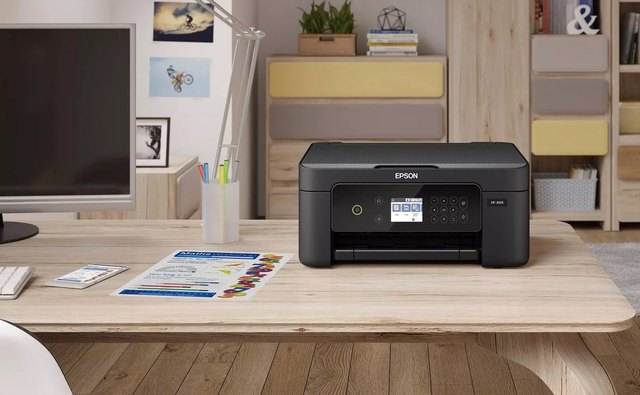 This Woman Found a Genius Way to Hide Her Printer in Style | Hunker