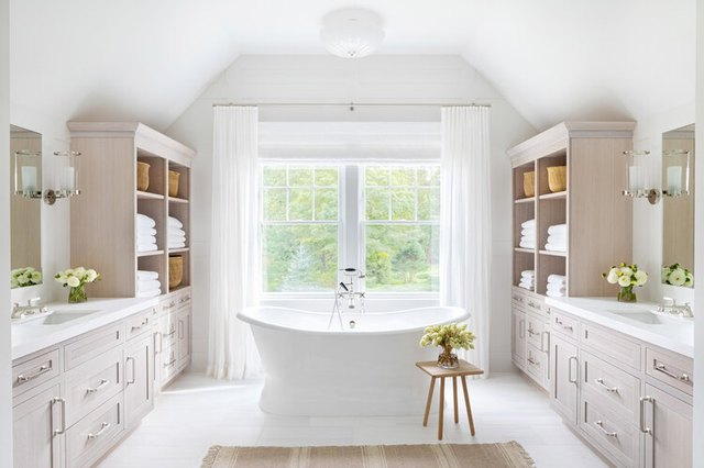 Flush Mount Bathroom Lighting Ideas That We Can't Get Enough Of | Hunker