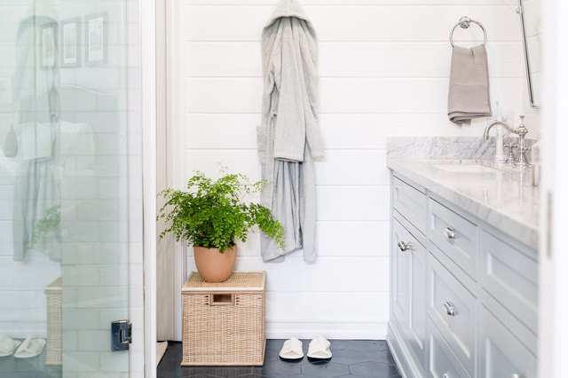 Stylish Shiplap Bathroom Wall Ideas That Will Make You Want to Redecorate | Hunker