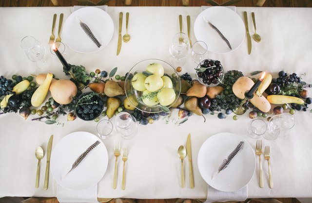 This Thanksgiving Table Runner Is Literally Good Enough to Eat   Hunker