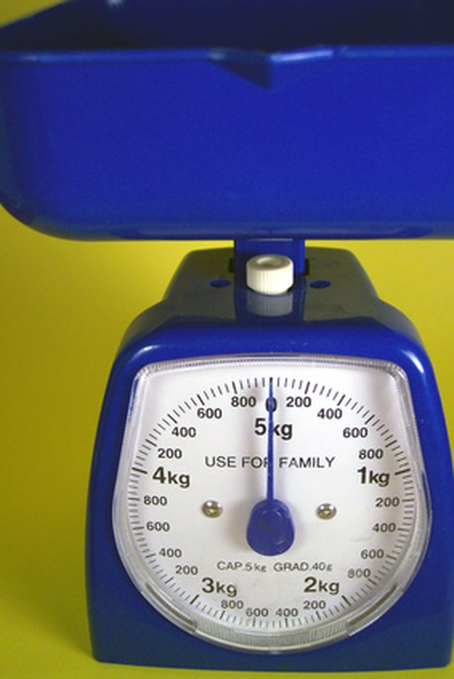 How To Read A Scale By Weighing Grams