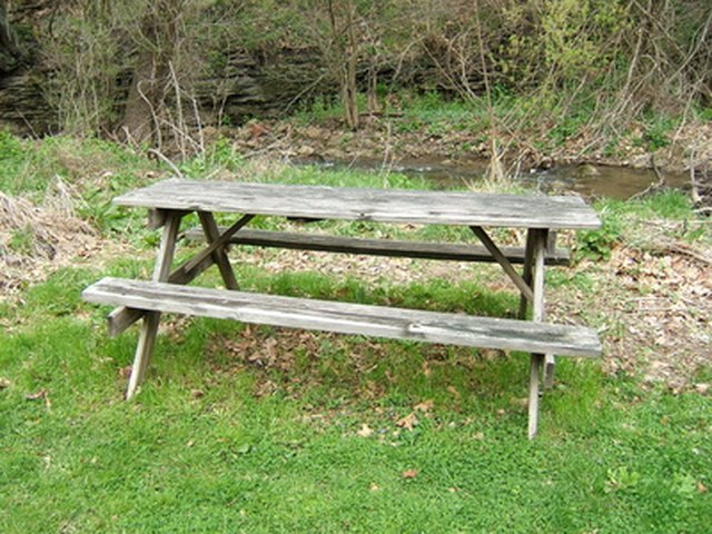 Painted Picnic Table Ideas