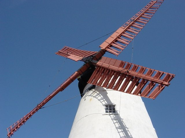 Color Selection And Design. Traditional Windmills ...