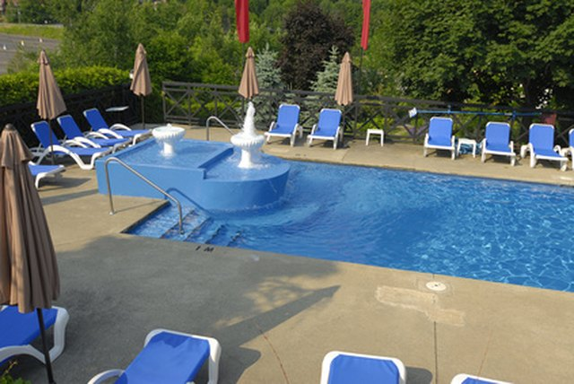 How To Repair Fiberglass Swimming Pool Steps Hunker