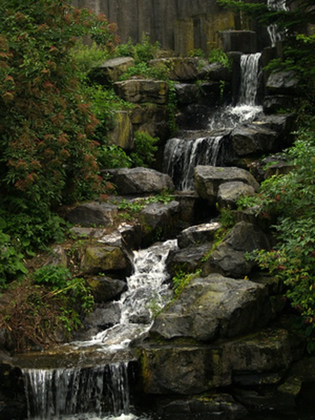How Do I Set Up a Backyard Waterfall? | Hunker