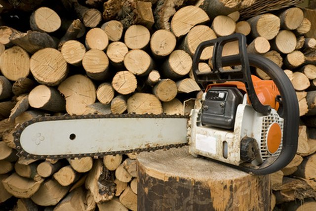 How to Tell If a Chainsaw Blade Is Installed Correctly | Hunker