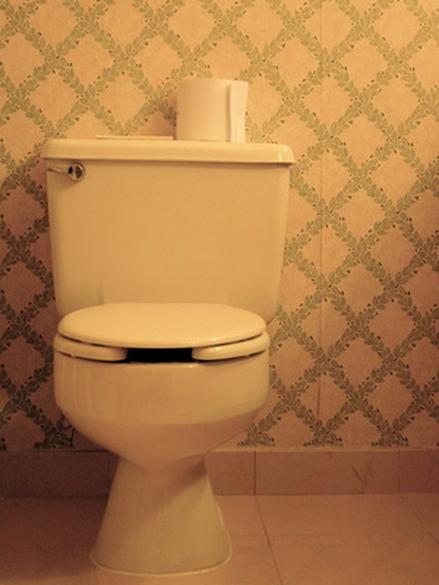 Is The Vinyl Floor Around My Toilet Discolored From Water