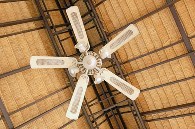 How to fix ceiling fan noise hunker tighten screws aloadofball Image collections