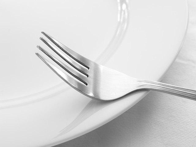 how do i clean tarnished stainless steel cutlery hunker. Black Bedroom Furniture Sets. Home Design Ideas