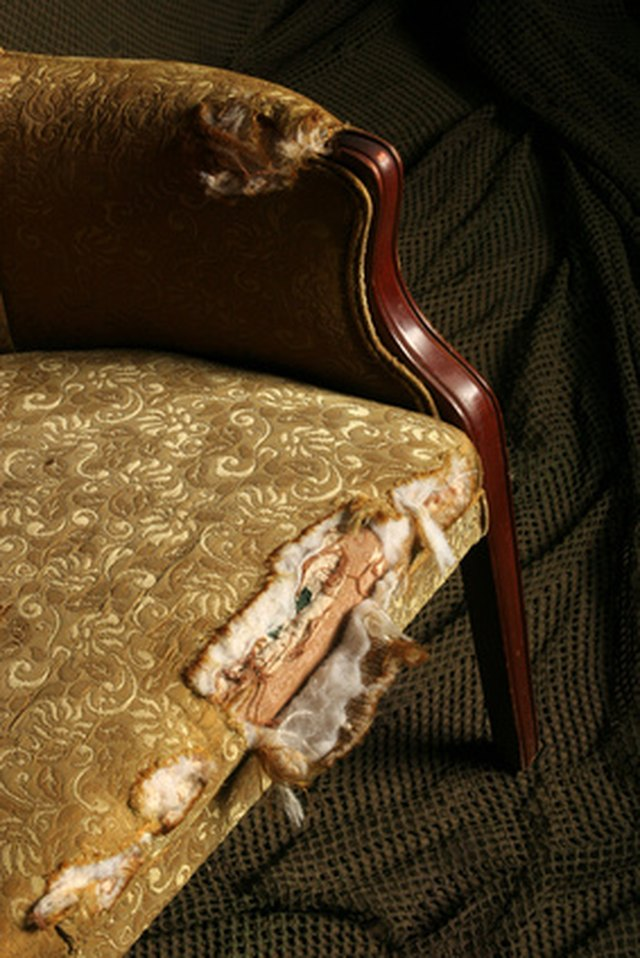 How To Remove Upholstery Glue Hunker
