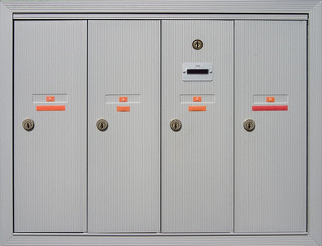 Apartment Mailbox Regulations | Hunker