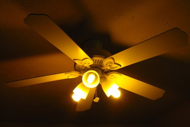 How to remove a light kit from a ceiling fan hunker step 1 aloadofball Image collections