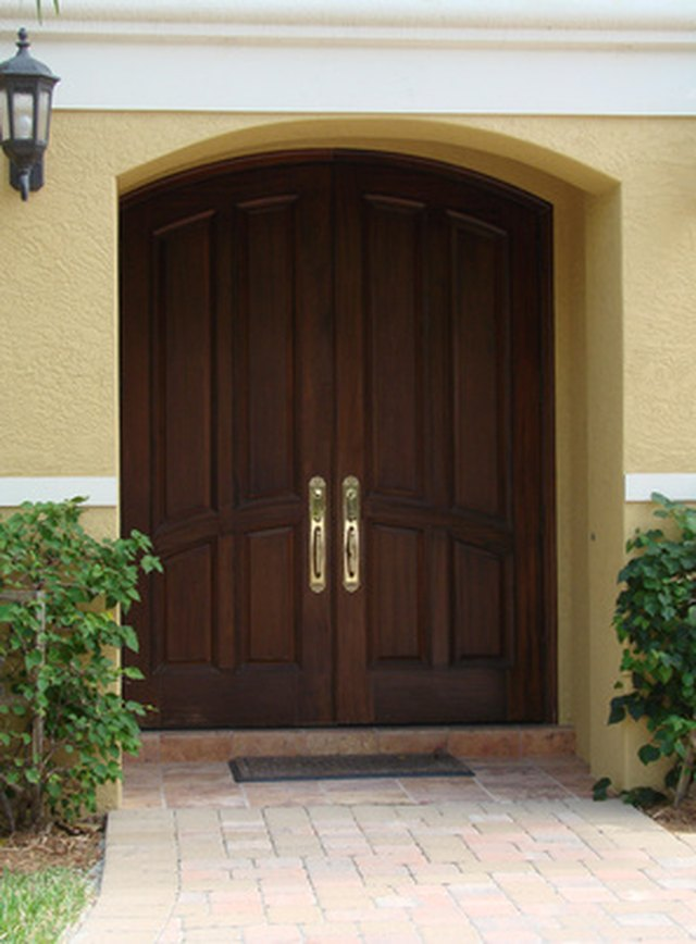 How To Install Astragals On Double Doors Hunker