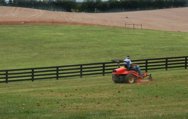 How To Adjust A Mower Deck On A Craftsman Riding Lawnmower