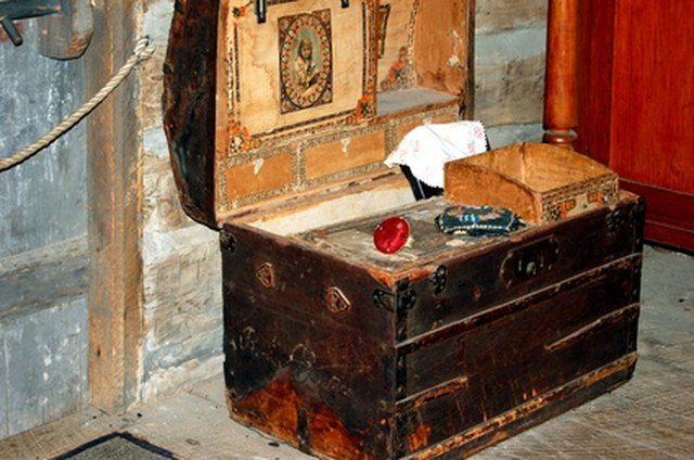 How To Clean Antique Storage Trunks Hunker