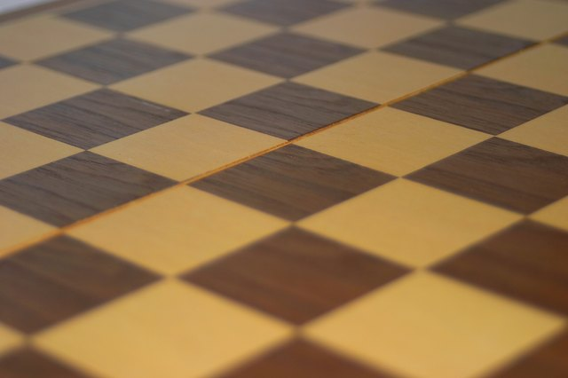 How To Paint A Garage Floor Checkerboard Hunker